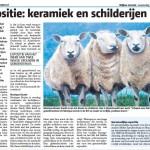 krantenartikel expositie 5 december t/m 7 januari 2015