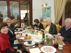 Lunch bij de Pronckheer met expositie van Monique.